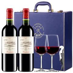 【ASC行货拉菲】法国原瓶进口红酒拉菲珍酿波尔多干红葡萄酒红酒礼盒装750ml*2