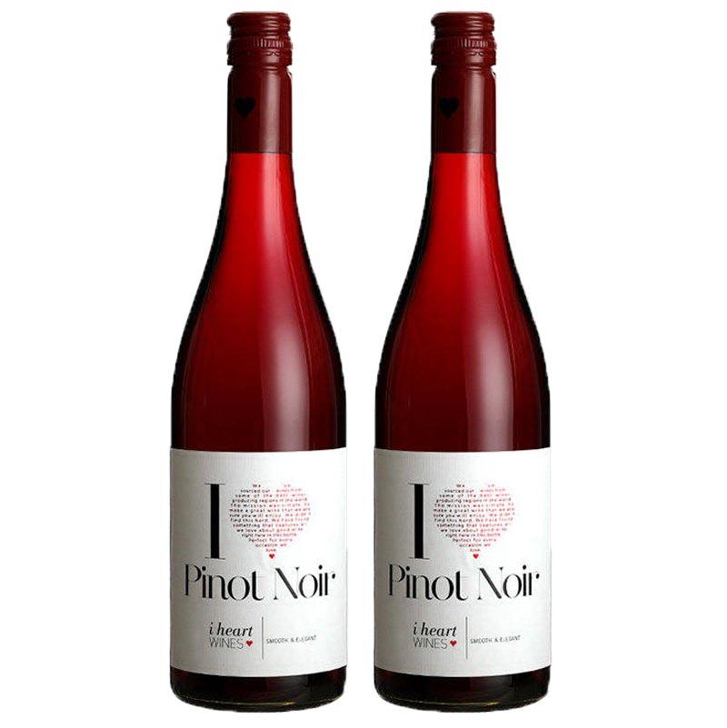 德国原瓶进口红酒 黑皮诺干红葡萄酒750ml.*2