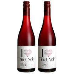 德国原瓶进口红酒 黑皮诺干红葡萄酒750ml*2