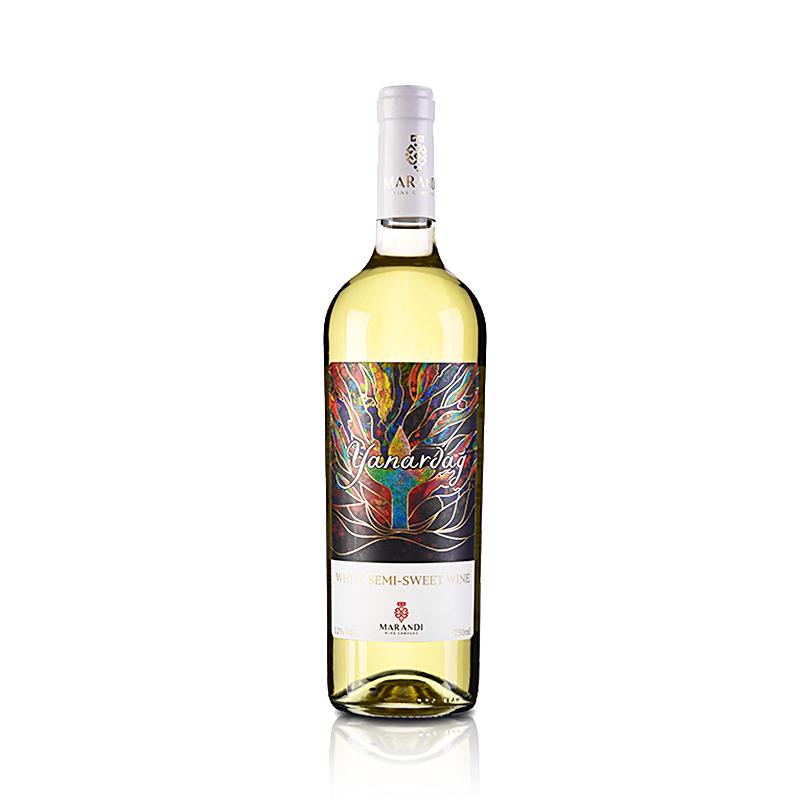 阿塞拜疆雅拿达半甜白葡萄酒750ml