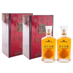 【老酒特卖】2008年产52度永不分梨酒900ml(含梨)*2 礼盒装 整箱装
