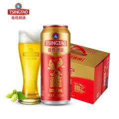 青岛啤酒福禄寿禧10度500*12禧罐啤