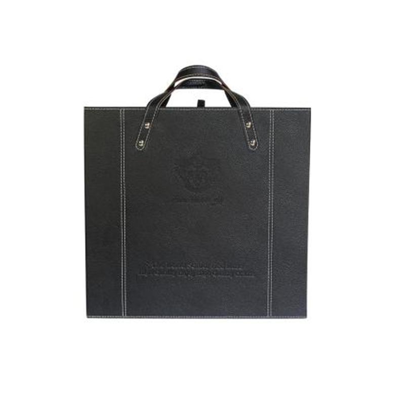 【仅礼盒,无酒】四支红酒盒/皮质包装礼盒/红酒箱/葡萄酒盒