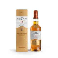 40°英国格兰威特单一麦芽苏格兰威士忌醇萃12年雪莉桶陈酿700ml