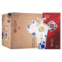 赊店老酒 青花瓷 赊店元青花15 浓香型白酒500ml 52度6瓶整箱