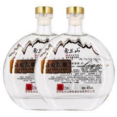 吉林雪兰山葡萄烈酒40度225ml 2瓶