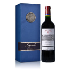 法国传奇源自拉菲罗斯柴尔德波尔多红葡萄酒750ml(DBR行货)+拉菲单支礼盒