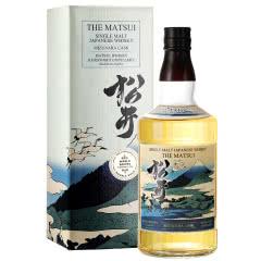48°松井水楢桶味单一麦芽威士忌700ml