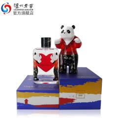 【酒厂直营】52度百调·HeartPanda熊猫(汉儿)125ml+熊猫摆件组合 泸州老窖