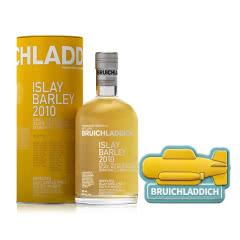 50°英国布赫拉迪艾雷岛麦芽2010年单一麦芽苏格兰威士忌700ml+ 布赫拉迪冰箱贴-黄色潜水艇