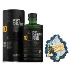 50°英国波夏擢跃十年单一麦芽苏格兰威士忌700ml  + 布赫拉迪冰箱贴-波夏