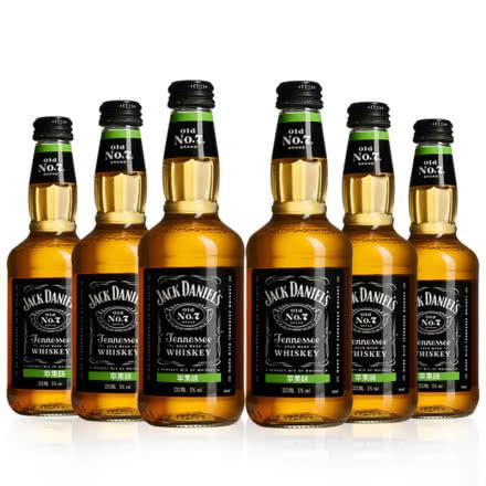 5°杰克丹尼预调酒苹果味330ml*6
