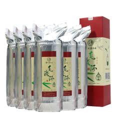 45°茅台镇生态竹筒酒 毛渡河竹筒酒真空包装粮食酒酱香型白酒500ml*6瓶装
