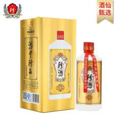 53°珍酒珍五(金装)易地茅台 贵州珍酒 酱香型白酒 固态纯粮酒500ml单瓶