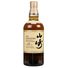 日本原装进口威士忌 山崎12年单一麦芽威士忌700ml
