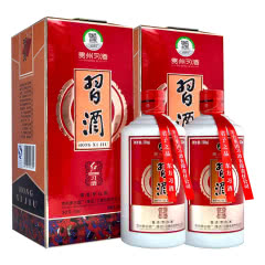 53°贵州习酒 红习酒 酱香型白酒500ml*2瓶