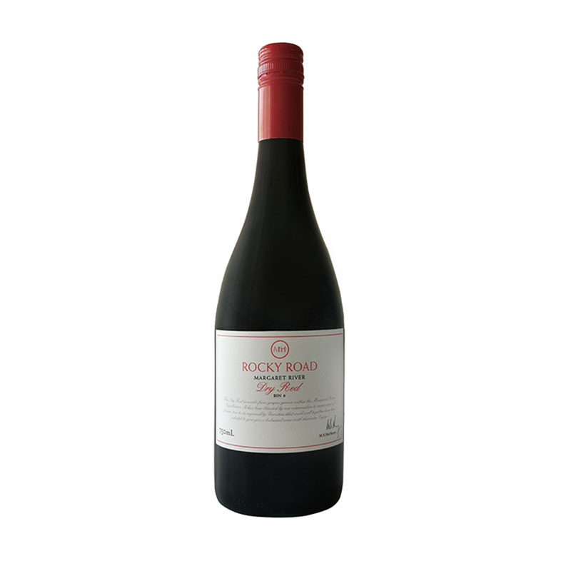 MH1908澳蜜国际澳洲原装进口麦赫恩岩道干红bin8 2018年  750ml单瓶