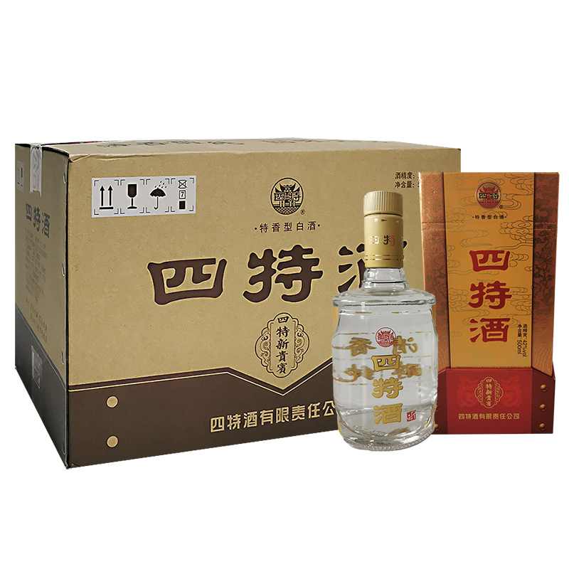 42°四特新贵宾 特香型白酒 500ml(6瓶装) 整箱