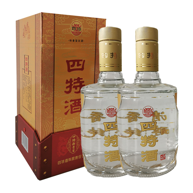 50°四特新贵宾 特香型白酒 500ml(2瓶装) 双瓶