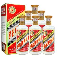 53°贵州茅台迎宾酒  酱香型白酒500ml(6瓶)整箱