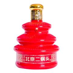 42°京都二锅头七彩天坛瓶红瓶 北京二锅头 清香型白酒500ml(6瓶整箱装)