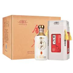 53°贵州金沙窖酒五星陈酱 酱香型白酒坤沙工艺纯粮白酒礼盒500ml(6瓶整箱)
