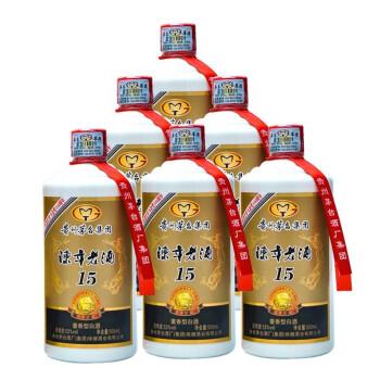 53°贵州茅台集团 陈年老酒15 酱香型白酒整箱500ML (6瓶装)