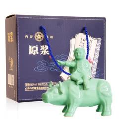 53度山西汾酒产地 牧童骑牛原浆白酒清香型粮食酒475ml礼盒装
