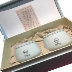 茶叶天凤山.天台黄茶「陶瓷系列」年货礼盒精选茶叶 50克*2罐