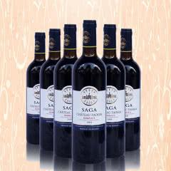 法国波尔多产区拉菲酒庄2004干红葡萄酒750ML*6红酒