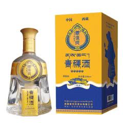 西藏青稞酒 藏佳纯圣露 浓香型白酒 42度500ml 单瓶