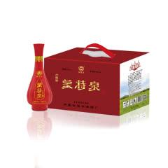 42°内蒙古白酒蒙特泉六瓶彩 浓香型白酒粮食酒500ml(6瓶)