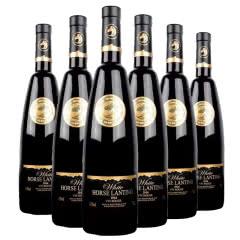 法国原瓶进口 法国白马蓝婷干红葡萄酒750ml*6瓶