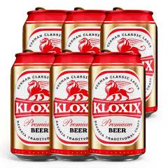科罗斯德式经典拉格啤酒330ml(金罐)*6