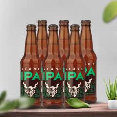 美国进口巨石精酿啤酒 巨石印度淡色艾尔精酿啤酒355ml*6瓶