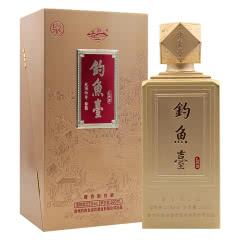 53°钓鱼台礼宾酒(泉)酱香型礼盒装500ml*1