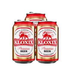科罗斯德式经典拉格啤酒330ml(金罐)*3