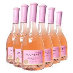 法国进口 香奈 J. P. Chenet 甜蜜系列 半甜桃红葡萄酒 750ml*6整箱装