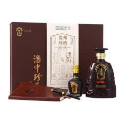 53°珍酒 珍酒故事礼盒 贵州珍酒 酱香型白酒500ml+100ml礼盒装