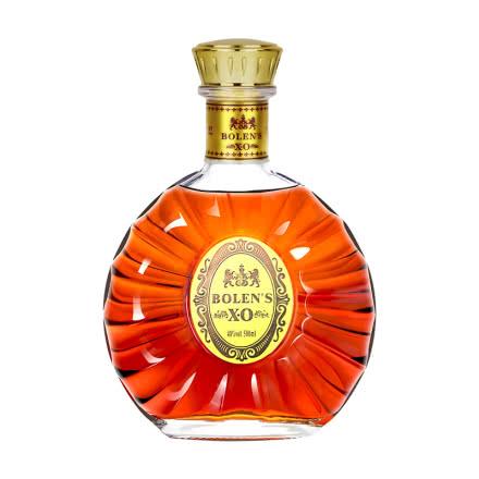 40°高朗洋酒(原酒进口)波朗圣XO白兰地烈酒500ml单瓶