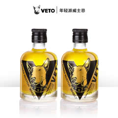 VETO100ml调和威士忌小圆瓶  获奖版 100ml*2