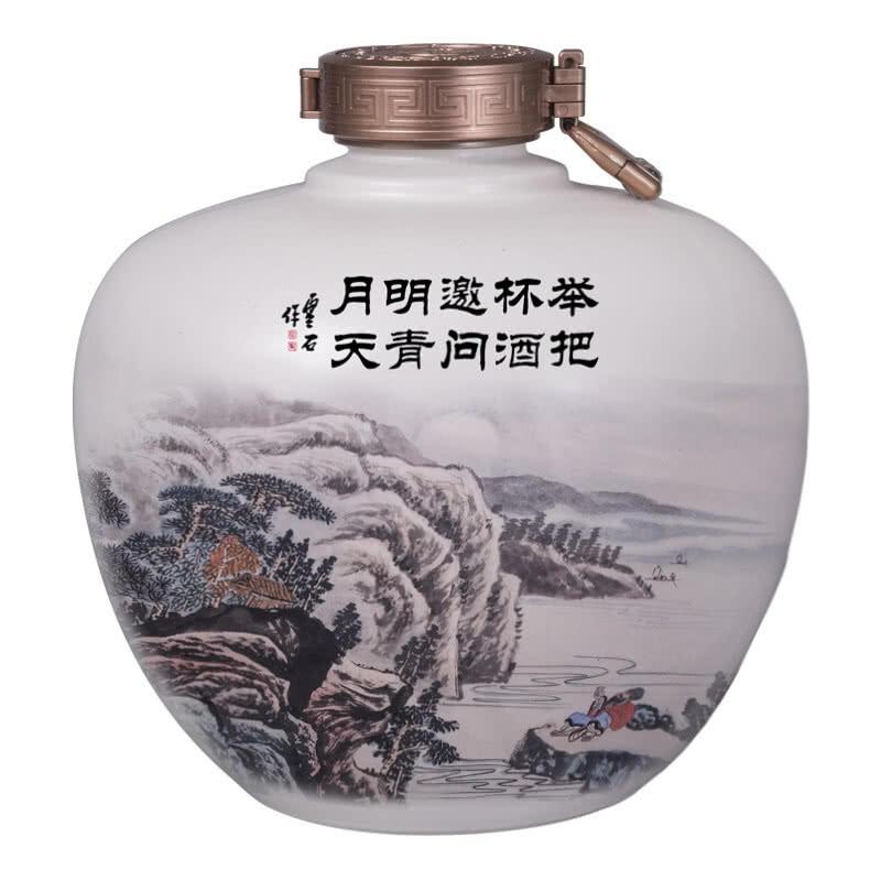 52°白水杜康万里江山酒   2500ml