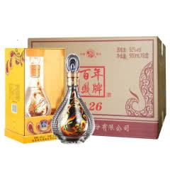 52°西凤酒百年凤牌礼盒装浓香型白酒500ml*6瓶