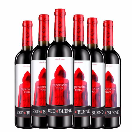 12.5°奥兰Torre Oria小红帽干红葡萄酒750ml 西班牙进口红酒