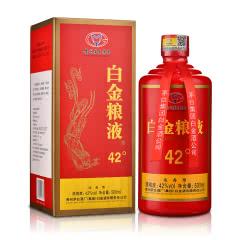 42°贵州茅台集团白金酒白金粮液500ml