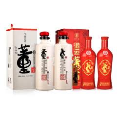 54°董酒何香750ml*2+【老酒特卖】38°鸿运董酒500ml(2015年)*2
