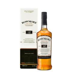 波摩12年(Bowmore)进口洋酒 波摩12年艾莱单一麦芽苏格兰威士忌 700ml