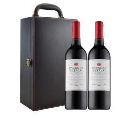 洛神山庄澳大利亚进口红酒 奔富洛神 私家臻藏西拉赤霞珠750ml*2
