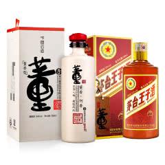 54°董酒何香750ml+ 53°茅台王子酒(传承1999)500ml