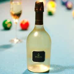 意大利原瓶进口起泡酒葡萄酒高度干型起泡酒气泡帕尼香槟灰皮诺11.5° 高档磨砂瓶750ml